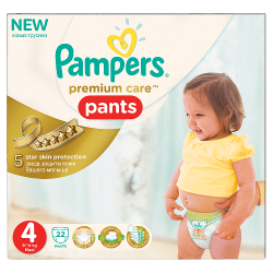 PAMPERS PREMIUM CARE PANTS...