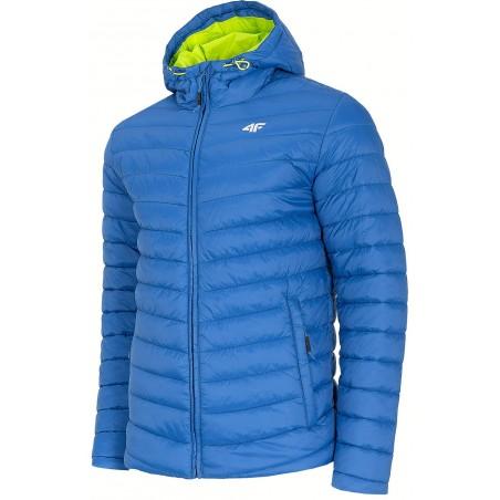 kurtka pikowana kobalt