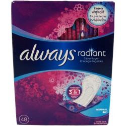Always Radiant Wkładki...