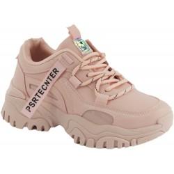 Sneakersy Damskie Różowe...