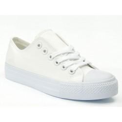 HAIDRA BK6257-2 ALL WHITE